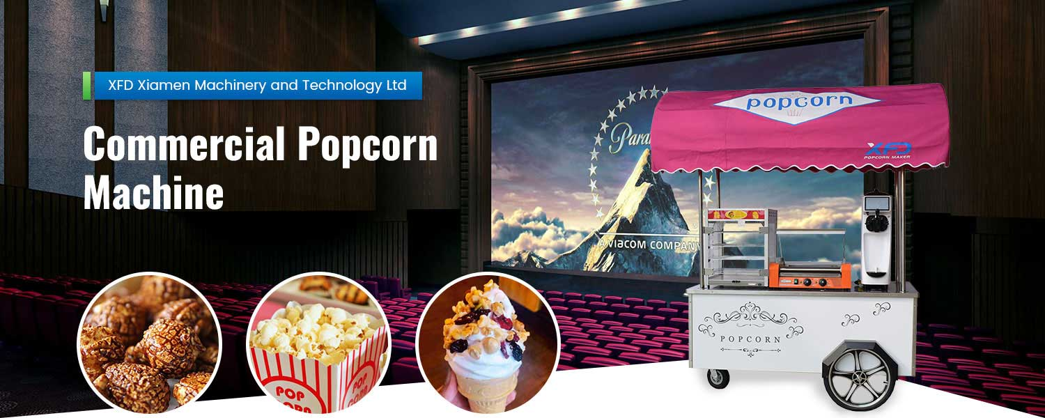 Commercial Popcorn Equipments